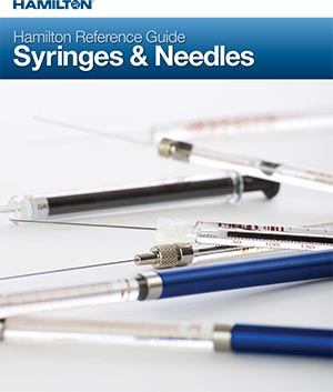 Hamilton Syringes and Needles 2017