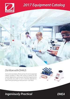 OHAUS equipment catalogue