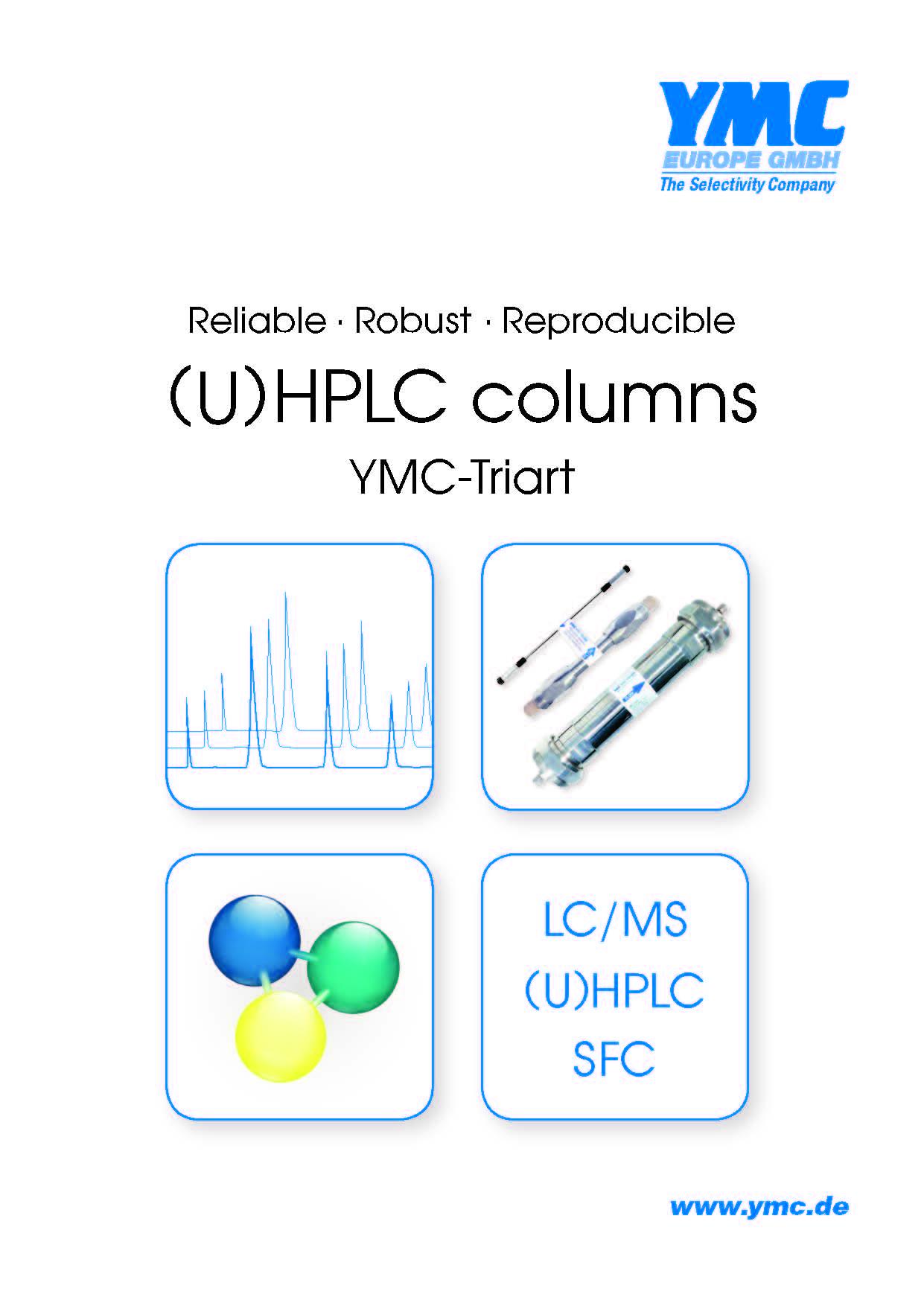 YMC Triart HPLC columns