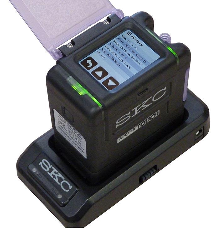 AirChek Touch sampling pump