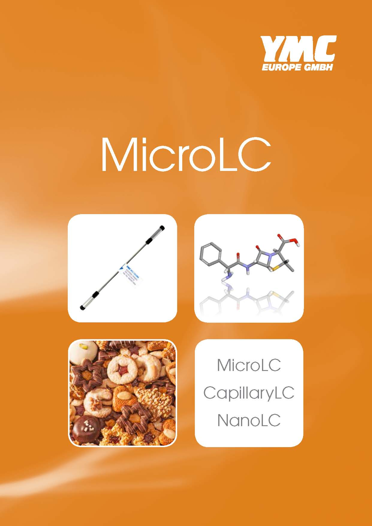 YMC capillary columns for MicroLC/NanoLC