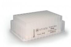 Strata 96-Well Collection Plate, 1 ml/Well, Polypropylene, 50/pk