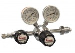 Chrome-Plated Brass Barstock, Single Stage, Pressure Regulator, Outlet pressure 3.5 bar (50 psi)