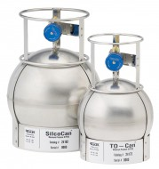 TO-Can, 15 liters, 3 Port RAVE , Stainless Steel with gauge
