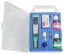pH 1 tester kit, incl. 1 extra cap for calibration, pH 4 and pH 7