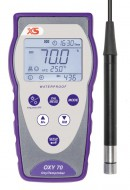 Portable Oxygen meter Oxy 70 - incl. optical Oxygen sensor LDO70/2MT (2m cable) and accessories