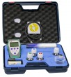 pH 7+ DHS complete kit included pH GEL electrode 1 m cable with BNC. Temperature probe NT55, pH buffer and carrying case