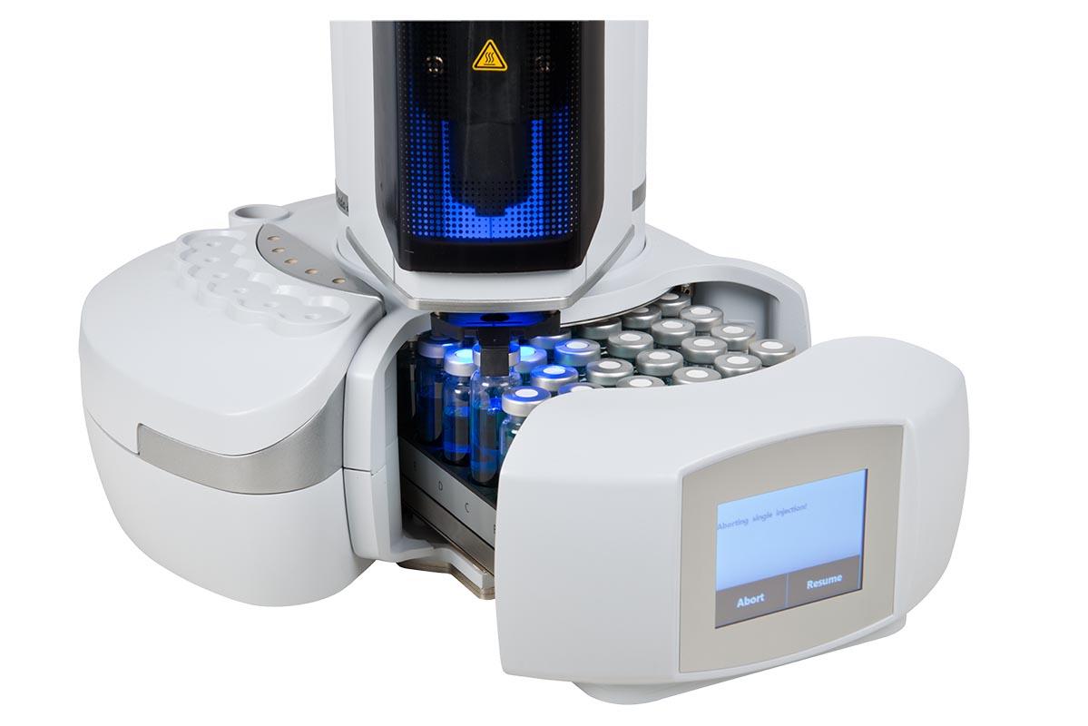 Static Headspace Autosampler 42 position, Configured LEFT - Products /  Chromservis.eu