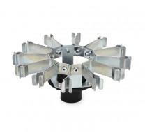 Nerezový držák pro mikrozkumavky 1,5-2,0 ml pro OHAUS Vortex Mini