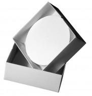Membránový filtr, CA, 0.45 µm, průměr 85 mm, bez mřížky,sterilný, 100 ks