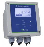 4263 Turbiditiy/Suspended Solids Analyser, wall mounting 144 x 144 mm