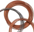 Tubing, copper, 3.18 mm OD x 1.65 mm ID, 15 m