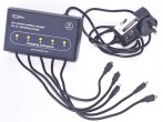 five station charger for Aircheck 3000