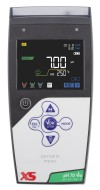 pH 70 Vio DHS w/o pH electr. with temp.probe NT 55, BNC/S7 1m cable, pH buffers, power supply, carrying case and access.
