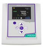 pH 60 VioLab with pH electrode CHS Chemflex NTC30, BNC/CINCH, Cable S7/BNC, temp.probe NT55, pH buffer and electrode holder.