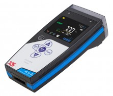 PC 70 Vio w/o electrodes with temp.probe NT 55, SW Data-Link, BNC/S7 1m cable, pH buffers, carrying case and access.