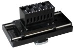 8-position auto cell changer for 10mm square cuvette