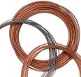 Tubing, copper, 6.35 mm OD x 4.83 mm ID, 15 m