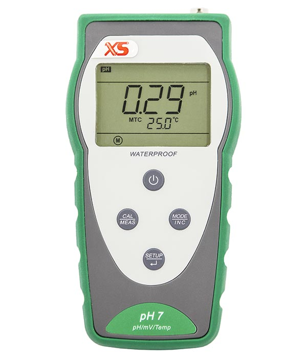 Ph Meter For Chemicals : Portable ph meter complete kit with carrying case